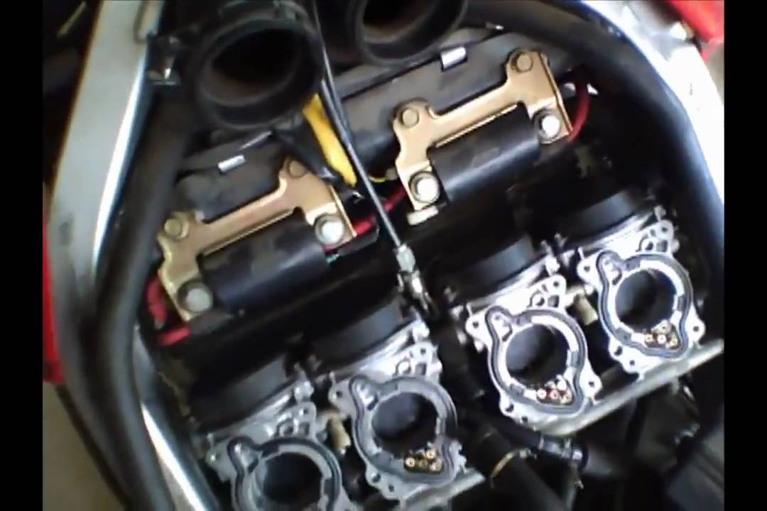 maintenance  carburetor removal part 1 1998 honda cbr 600