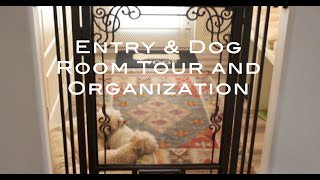 Entry & Dog Room Tour and Organization Thumbnail