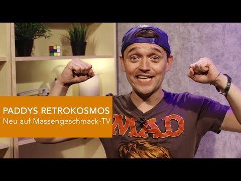 PADDYS RETROKOSMOS - Ab Montag 29.7. exklusiv auf Massengeschmack-TV