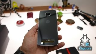 Moto Z Play Unboxing and Hands on - iGyaan 4k