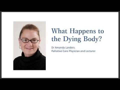 What happens to the dying body?