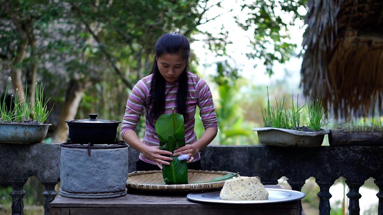 Xôi Đậu Xanh và Bữa Cơm Chiều Ấm Áp Cùng Bà Nội | Bản Rùa