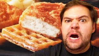 Hungry Man Chicken and Waffles | Lunch Box
