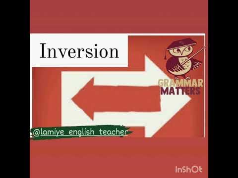 Inversion part 1  #inversiya #miq #ingilisdilimüəllimləri #advancedgrammar #ingilisdili
