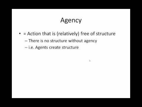 Structure & Agency: 25 Concepts in Anthropology