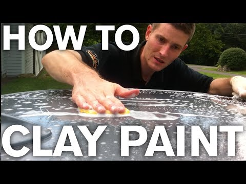 How to Clay Bar Paint to Remove Contaminants