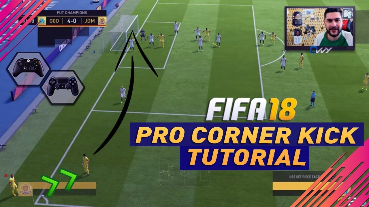 Corner set piece fifa 18 fifa 18 loan bug