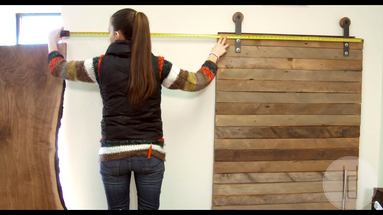 & How to Install a Sliding Door - Loft Doors - YouTube