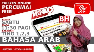 🔴 [LIVE] BAHASA ARAB TING. 1-3, الضميرالمنفصل للمخاطب  BERSAMA USTAZAH SUE #04 #TUISYENPERCUMA