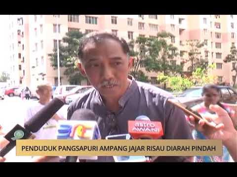 AWANI - Pulau Pinang: Penduduk Pangsapuri Ampang Jajar risau diarah pindah