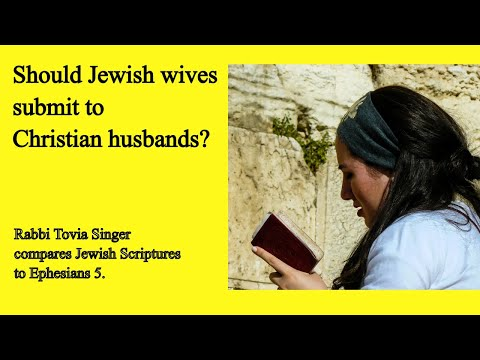 'I embraced Judaism.  Must I be obedient to my Christian husband?'  Rabbi Tovia Singer responds