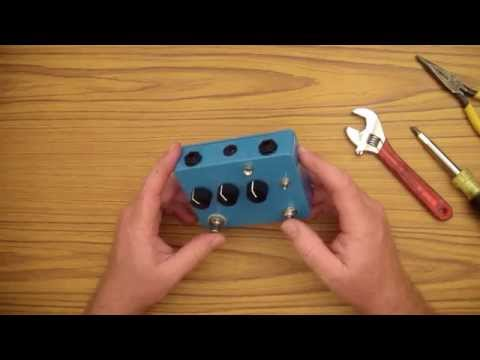 Do It Yourself Musician #6 - BYOC Vibrato Effects Pedal Review And Repair