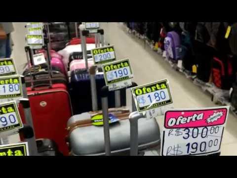 6f3548173 25 de Março em São Paulo, malas, bolsas, mochilas - YouTube
