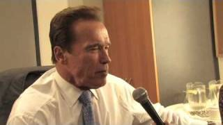 Arnold Schwarzenegger, Governor of California - Hub Culture Interview at GGCS3