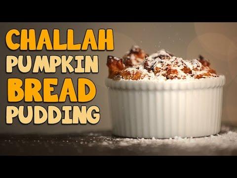 Pumpkin Challah Bread Pudding Recipe | Just Add Sugar - YouTube