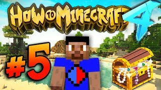 A DUNGEON RAID?! - HOW TO MINECRAFT S4 #5
