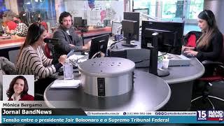 Mônica Bergamo Fala Sobre A Tensão Entre O Presidente Jair Bolsonaro E O Supremo Tribunal Federal
