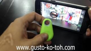 Bluetooth key tracker