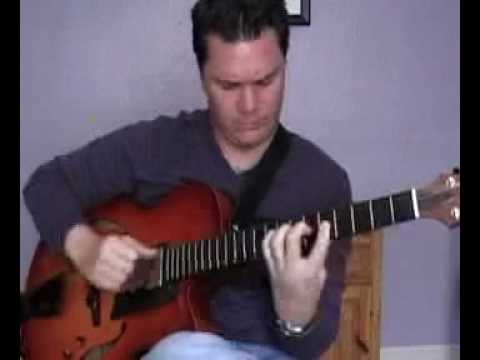 Sean McGowan - I'm Old Fashioned - Solo Fingerstyle Jazz Guitar