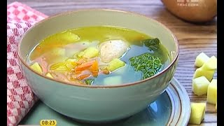 Французький овочевий суп - Правильний Сніданок
