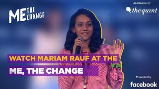 Watch Mariam Rauf at the Me, the Change event | The Quint