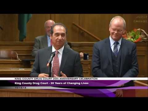 King County Drug Court's 20th Anniversary Celebration