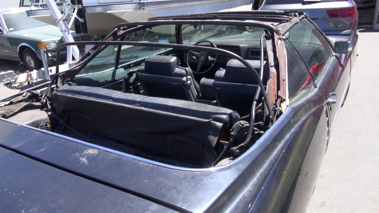 1971 cadillac eldorado convertible top repair and replacement
