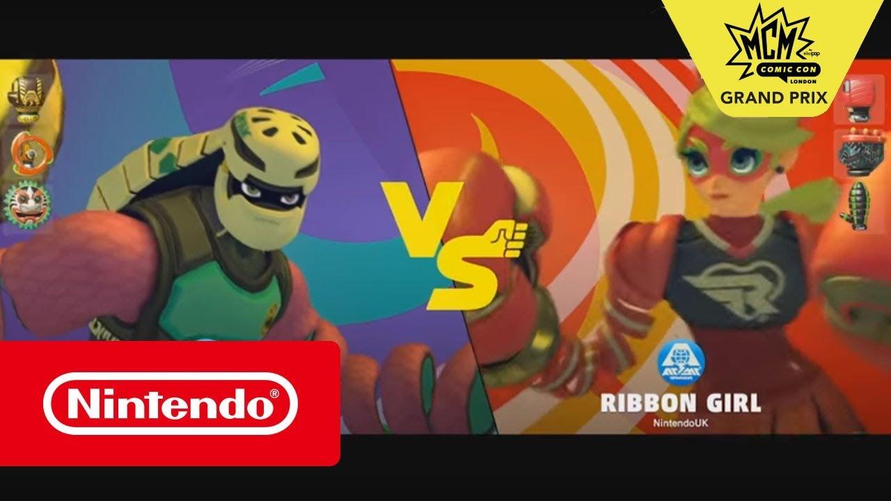 ARMS - MCM Grand Prix Winner's Final: JR vs Tmo_Genius (Nintendo Switch)