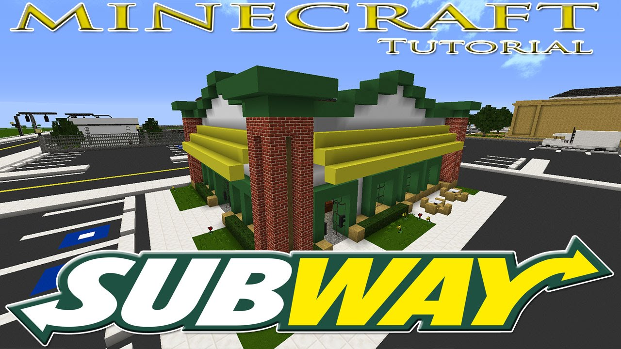 Minecraft Fast Food Restaurant