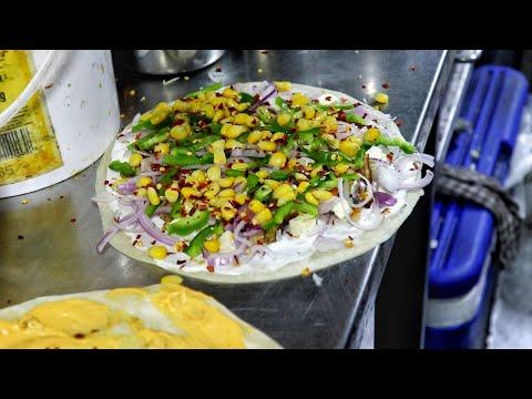 Indian Style Mexican Veg Quesadilla At Cafe Baroda Express  Stuffed Variety  Indian Street Food