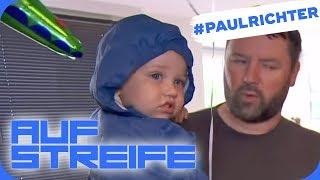 Krasser Wutausbruch: Was muss der Kleine mit ansehen? | #PaulRichterTag | Auf Streife | SAT.1