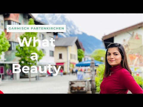 Most beautiful town of Germany | Indian Travel Vlog | Things to do at Garmisch Partenkirchen Germany