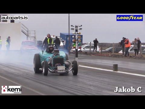 Drag Racing Iceland 2016! 1. round in Icelandic Championship