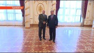 Переговоры Рахмона и Лукашенко. Итоги визита Президента Беларуси в Таджикистан. Репортаж СТВ