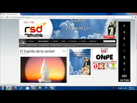 Web Radio Santo Domingo