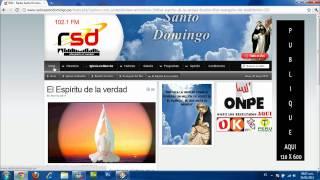 Web Radio Santo Domingo