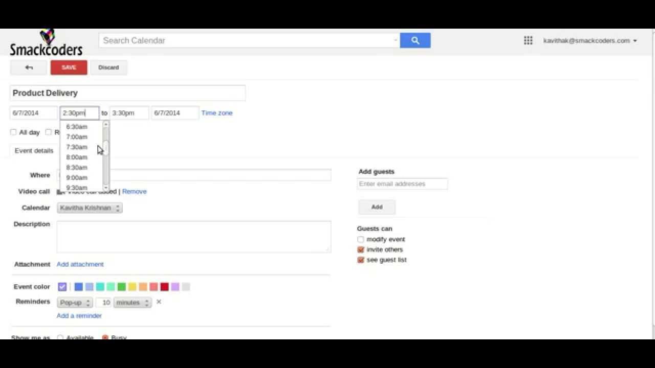 VTiger 6 Google Calendar Module After Cron Setup