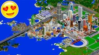 Esta CIUDAD tardó 7 meses en ser construida | Minecraft