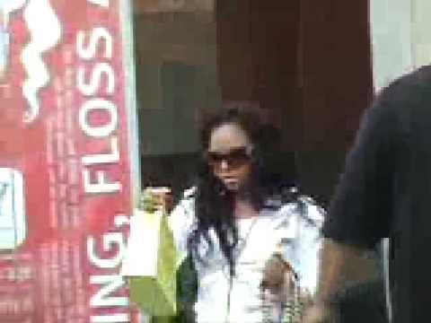 Ashanti in Nelly's Rolls Royce