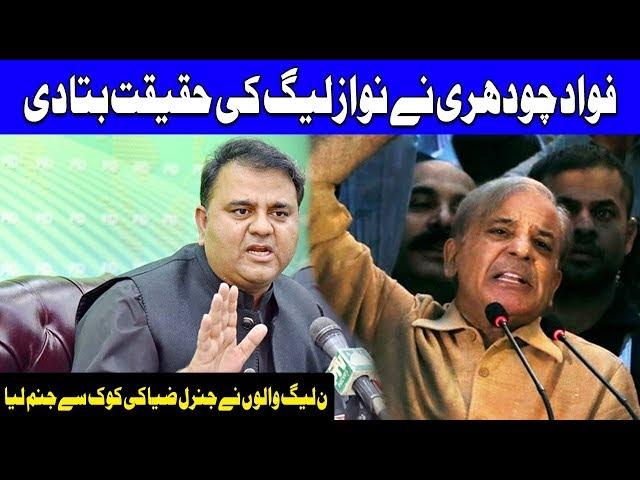 Fawad Chaudhry Hits Back On PMLN | 17 October 2018 | Dunya News