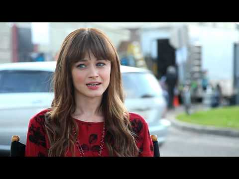 Cast Interview - Alexis Bledel - Tell us about Gus? Why is he different?