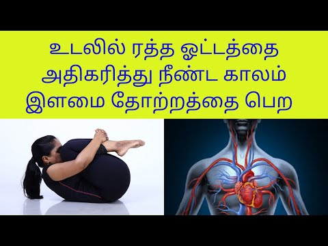 Yoga For Full Body Blood Circulation And Anti Ageing in Tamil By Dr.Lakshmi Andiappan