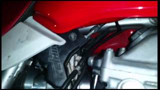 xr650l crf carb mod with stock throttle and choke