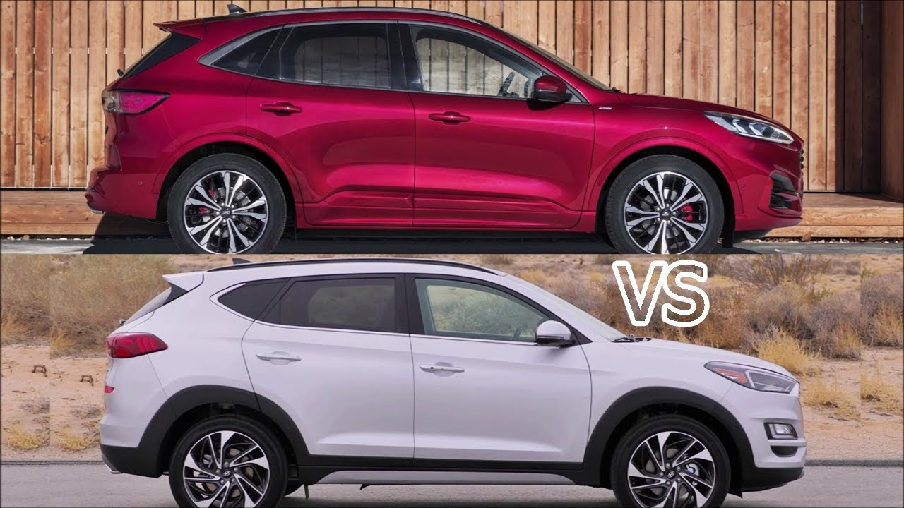 2020 Ford Kuga Vs 2019 Hyundai Tucson Kuga Vs Tucson Youtube