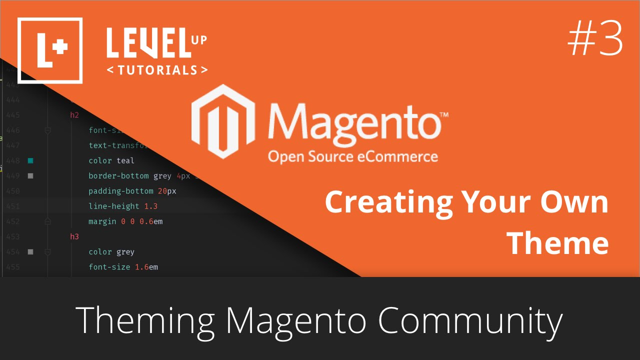 Magento 2 theme development & customization step by step guide.