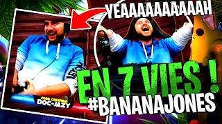 Doc Jazy... Le premier qui réussi à finir mon Deathrun #BananaJones en 7 vies sur Fortnite Créatif !