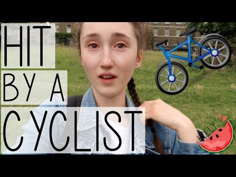 HIT BY A CYCLIST IN CAMBRIDGE | OXFORD SUMMER COURSES BEHIND THE SCENES VLOG