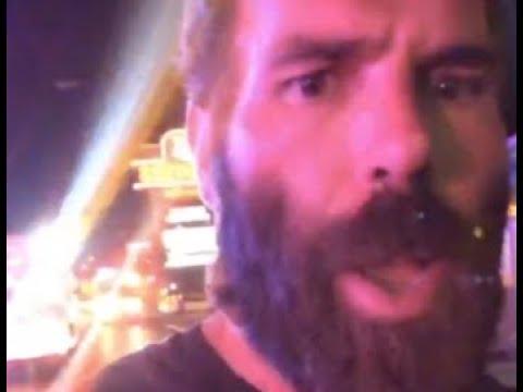 Dan Bilzerian Runs For Dear Life After Shots Ring Out During Vegas Shooting