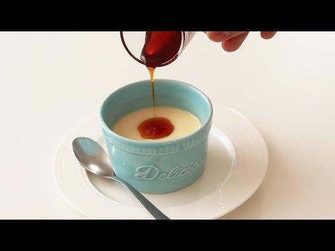 オーブンなしですぐ作れる!なめらかプリンの作り方*卵1個シリーズ#3 Custard Pudding|HidaMari Cooking