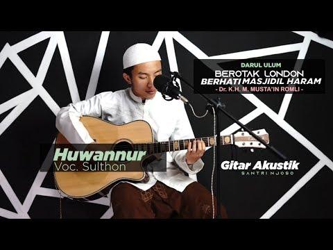 HUWANNUR Versi Akustik Santri Njoso